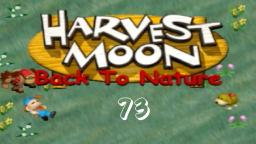 Let´s Play Harvest Moon Back To Nature ★ 73 ★ Immer diese Störungen