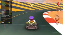 Garfield Kart Real Time Benchmark