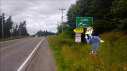 Drew Pickles goes to a town called Dildo