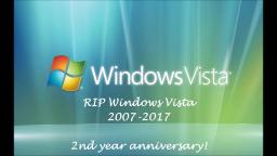 2nd Year Anniversary of Windows Vistas Support Ended