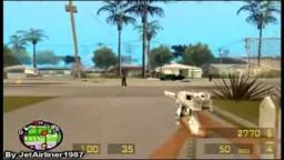 Loquendo - Carl Johnson Jugando Al Counter Strike (GTA San Andreas)