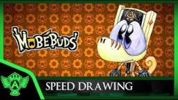 Speed Drawing: MobéBuds Merio (Concept 1) | Mr. A.T. Andrei Thomas