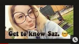 Get to know Saz. 🤓