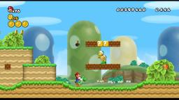 Playing New Super Mario Bros Wii on the Dolphin Emulator