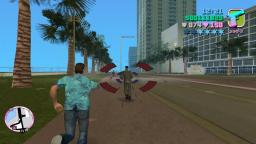 GTA Vice City: Road to 6 stars + giving Rhino