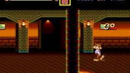 Bubsy in Street of Rage 2 Gameplay (Genesis Romhack)