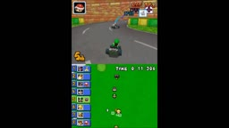 Mario Kart DS N64 Circuit CT DS Luigi Circuit Fixed Routes and Respawns and also Item Listing