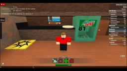 (First ROBLOX Video) Work at Pizza Place