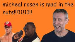 VLP - Michael rosen goes mad int he nuts