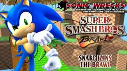 Super Smash Bros. Brawl | Snake Joins The Battle