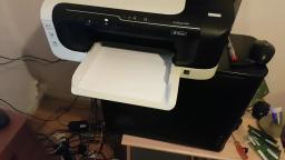 Given free HP Officejet 6000 printer seems it needs new ink but works testing & printing