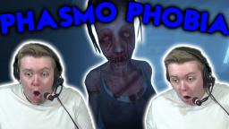 My First Time Playing Phasophobia (jumpscares)