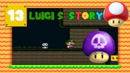 Lets Play Luigis Story [SMW-Hack] Part 13 - Die Giftpilze stehen auf mich