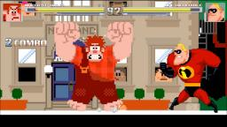 MUGEN Battles #8: Wreck-It Ralph vs Mr. Incredible