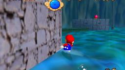 Mario 64 - Through the jet stream