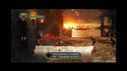 Dantes Inferno - Fighting - Xbox 360 Gameplay