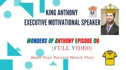 Anthony Giarrusso Executive Motivational Speaker Episode 08 (Full Video)