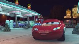 Who scared Lightning McQueen