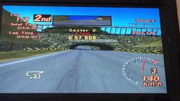 Gran Turismo 2 | Autumn Ring (Arcade Race, Lotus Elise 190)