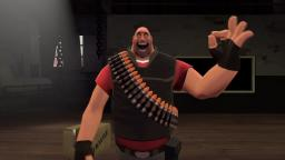 (SFM/small test/TF2) Heavy suprising himself with the 👌