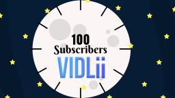100 Subscribers Vidlii Anthony Giarrusso
