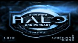 Halo Anniversary [Soundtrack] - Disc One - 01 - Random Slipspace Trajectory