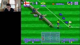 Andrew Plays International Superstar Soccer Deluxe for the Super Nintendo