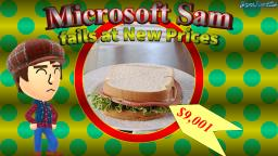 Microsoft Sam fails at New Prices