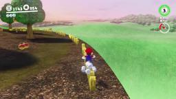 Mario Running on Fences