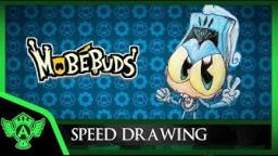 Speed Drawing: MobéBuds - Speedonix (Concept 1) | Mr. A.T. Andrei Thomas