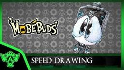 Speed Drawing: MobéBuds - Jony (Concept 1) | Mr. A.T. Andrei Thomas