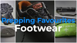 Prepping Favourites - Footwear