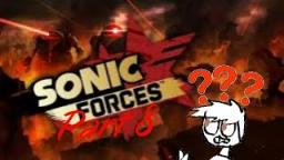 Lets play Sonic forces part 8-the level was getting harder