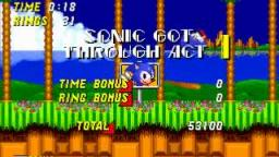 Sonic the Hedgehog 2 - Emerald Hill 1: 0:18 (Speed run)