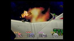 Super Smash Bros 64 GamePlay
