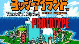 Yoshis Island Prototype Leak #1 World 1-1 - 1-3