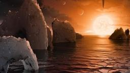 TRAPPIST-1 System Footage NASA