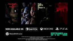 Five Nights at Freddys 1-4 on PS4 Xbox One and Nintendo Switch Nov 29th