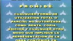 Opening To Mulan 1999 Mexican Spanish VHS