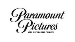 Paramount Pictures logo History (1912-Present)