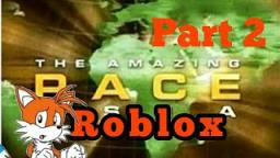 The Amazing roblox race #2 Im running out of time fire