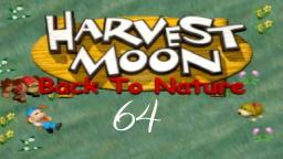 Harvest Moon Back To Nature ★ 64