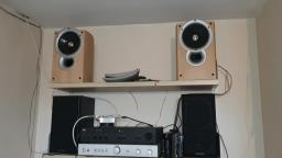 Look at some KEF Q1 stereo bookshelf speakers I bought from facebook they work best on NAD 3020i amp