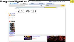 I am on the front page of Vidlii - THANKS VIDLII