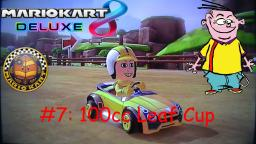 Mario Kart Ed Deluxe Mii Character Races Episode 7: 100cc Leaf Cup with Eddy