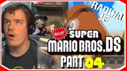 This was not goes as planned..:Newer Super Mario Bros DS Lets Play (04)