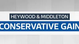 Conservatives gain Heywood and Middleton from Labour