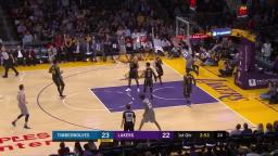 Lakers vs wolves apr 6 2018