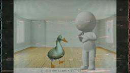 The Duck and the White Biped