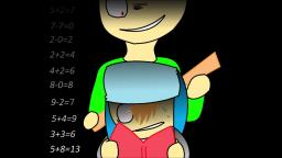 Baldi's Basics Song- Basics in Behavior [Blue]- The Living Tombstone feat. OR3O (nightcore)